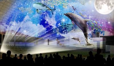 ウインターイルミネーション10周年特別企画 劇場型プロジェクションマッピング